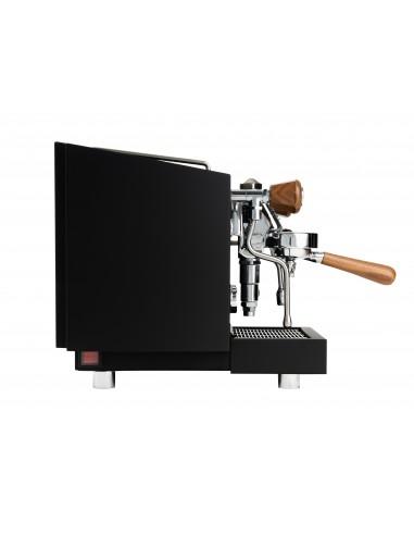 Macchina Caffè Vivi Nera Legno